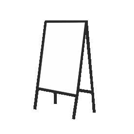 Tablice kredowe z zadrukiem
